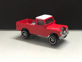 2019 Hot Wheels Land Rover Series III Pickup