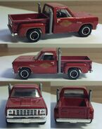 Hotwheels Dodge Li'l Red Express 1978 (Custom)