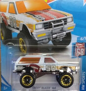 Chevy Blazer 4x4 White HW Sports