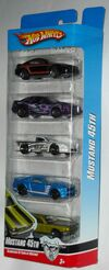 Mustang 45th 5pack