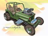 Custom '42 Jeep CJ-2A