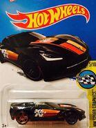2016 180-250 HW Speed Graphics 05-10 '14 Corvette Stingray 'K&N' Black