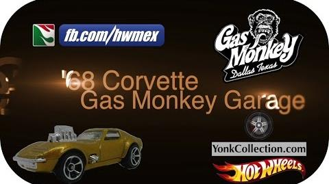 Hot Wheels - '68 Corvette Gas Monkey Garage - Yonk Collection Dubstep Montage 18