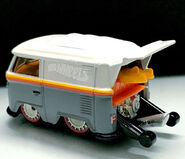 Hot Wheels 2019 Mexico Convention Volkswagen Kool Kombi back