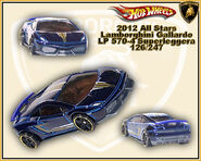 2012 All Stars Lamborghini Gallardo LP 570-4 Supperleggera 126-247