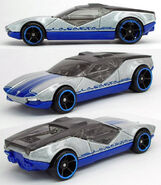 003a2 - 2010 HW's Garage silver & blue
