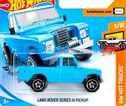 2019 Hot Wheels Land Rover 2nd color