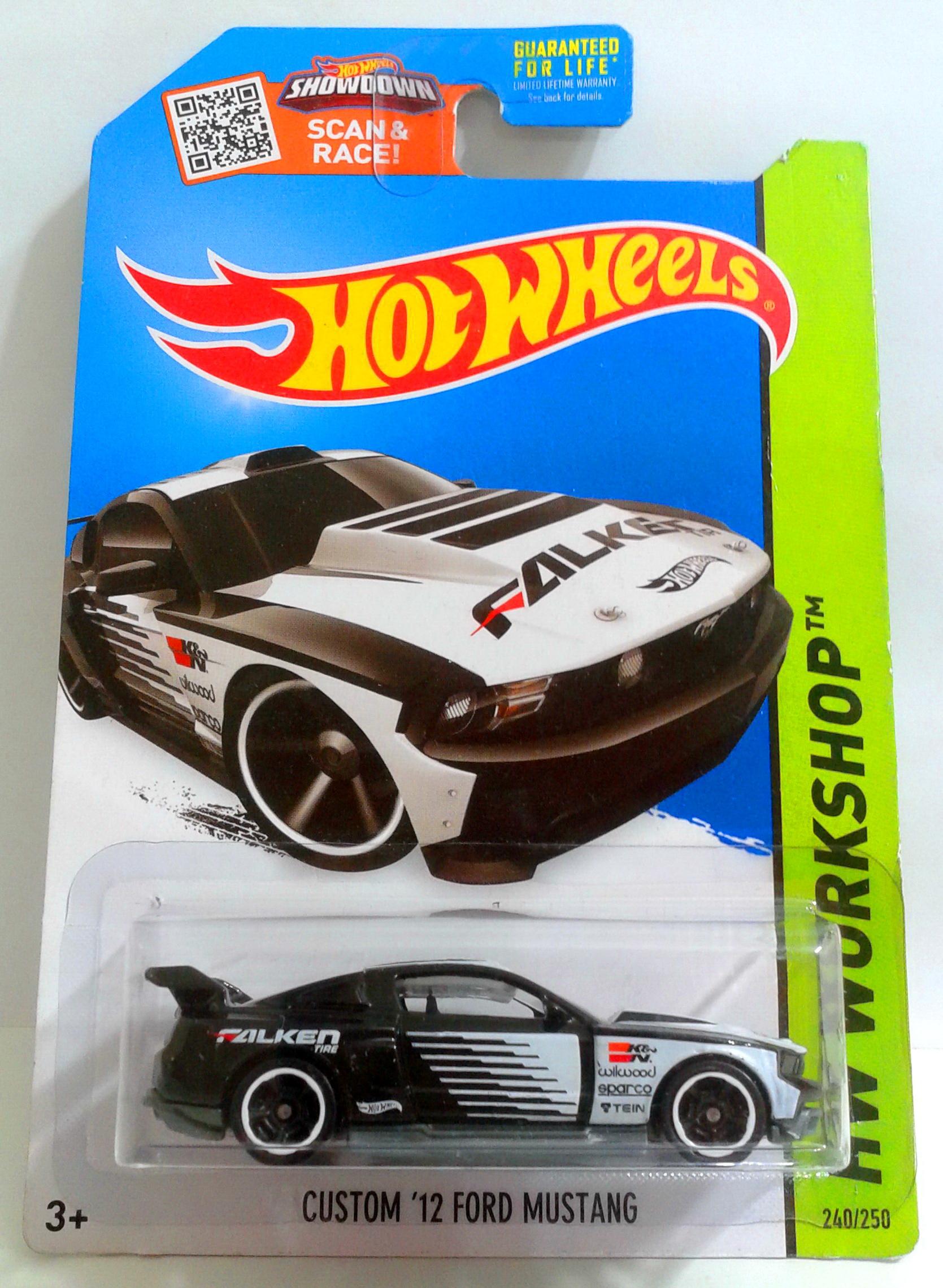 Hot Wheels Custom 12 Ford Mustang 2015 HW Workshop Silver #240//250
