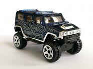 Hummer H2 Blue 06
