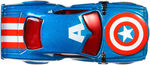 BDM73 Hot Wheels Marvel Character Cars - Captain America HW Marvel Cars Captain America XXX 2