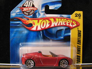 Tesla Roadster 40Th Anniversary