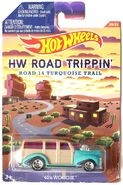 2016 HOT WHEELS HW ROAD TRIPPIN 20 21 ROAD 14 TURQUOISE TRAIL 40 S WOODIE DFL53