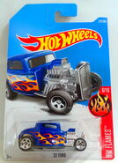 32 Ford (Blu) Flames 6 - 17 Cx