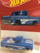 Custom 62 Chevy Pickup. Blue. 2019