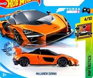 2019 Hot Wheels McLaren Senna 2nd color