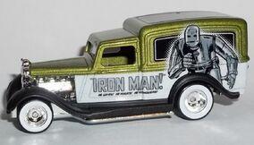 HW-Marvel-'34 Dodge Delivery-Iron Man..