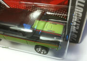 2011 Hot Wheels Garage MOPAR 1970 Plymouth Road Runner HOOD detail ERROR