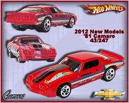 2012 New Models 81 Camaro 43-247