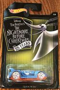 Hot Wheels Nightmare Before Christmas Quick 'N Sik carded