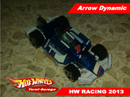 Arrow Dynamic 2013 blue