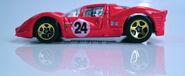 Ferrari P4 red profile