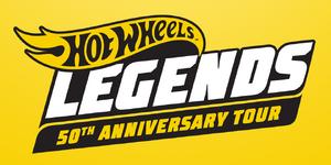 Hot Wheels Legends 50th Anniversary Tour Logo
