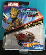 Marvel Groot Go Kart (pack)