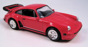 Porsche 930 turbo red collectibles