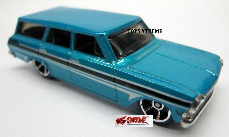 All Chevy 64 chevy nova : Image - '64 Chevy Nova Station Wagon-LITE BLUE.jpg | Hot Wheels ...