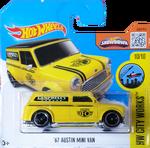'67 Austin Mini Van package front
