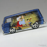 1069 Hot Wheels '66 Dodge A100 (Van) Pinocchio mf dark blue (4)