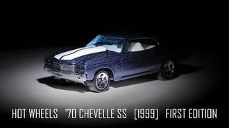 Hot Wheels '70 Chevelle SS First Edition