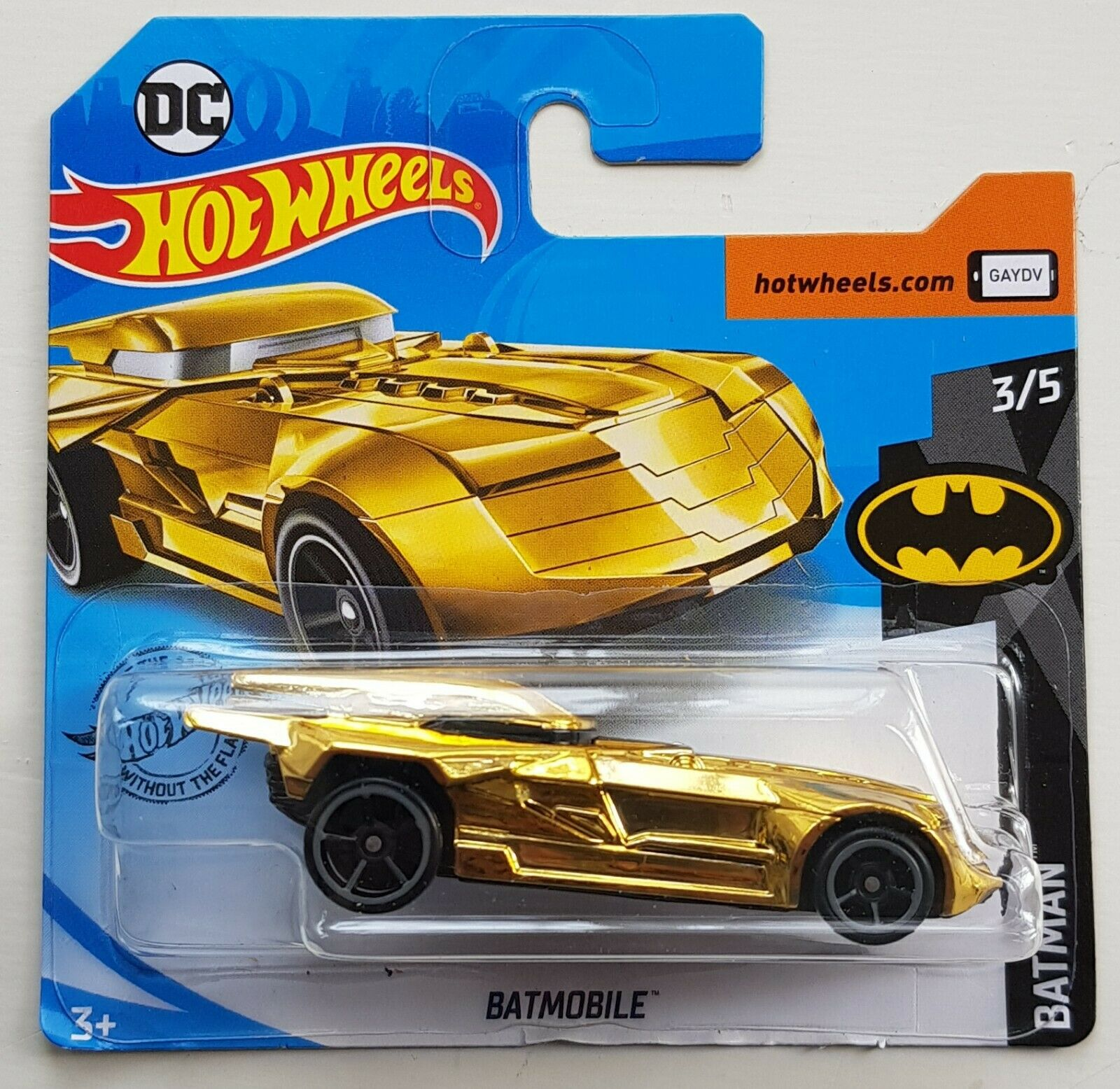Hot Wheels novedad 2020 Batman Arkham Asylum Batmobile Treasure Hunt
