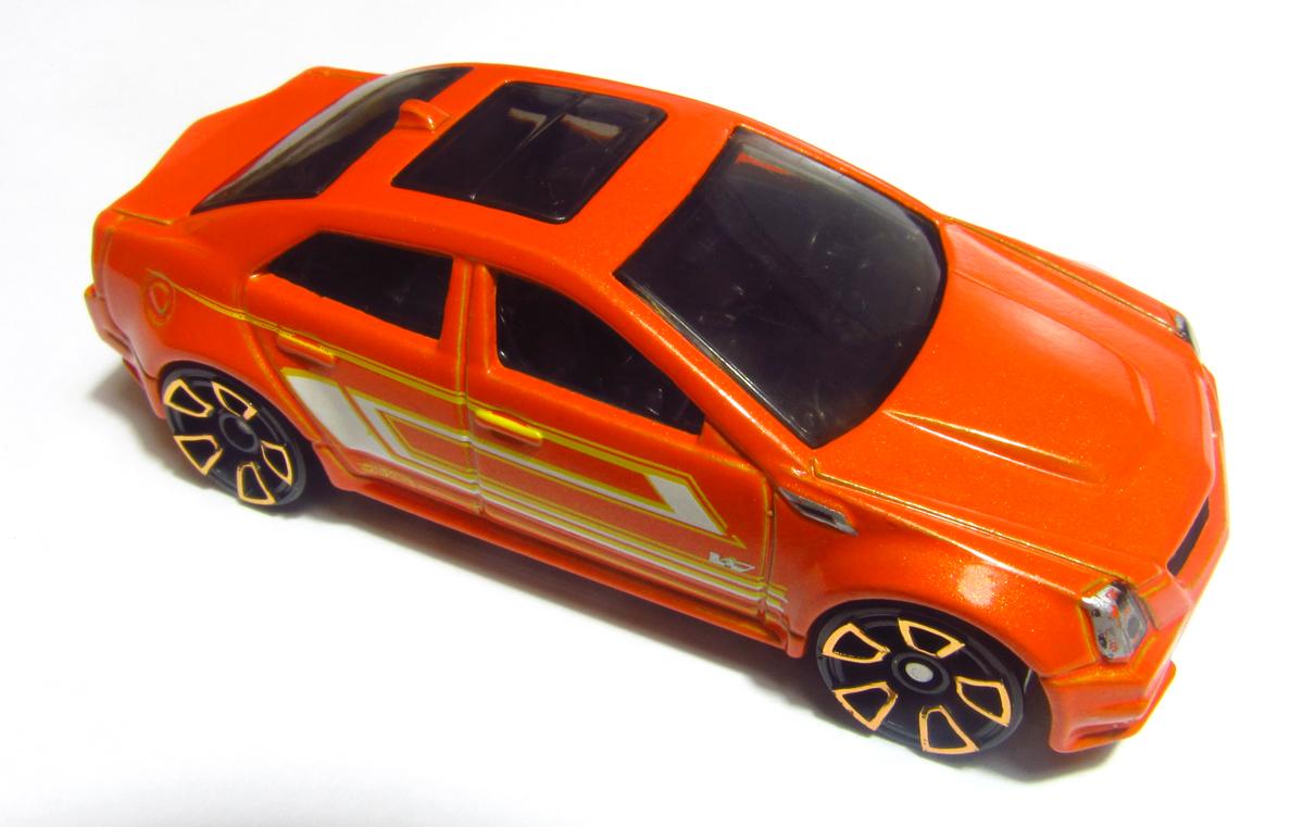 Image  2012 V5400 09 Cadillac CTSV Orangejpg  Hot Wheels Wiki