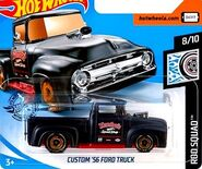 2019 Hot Wheels Custom '56 Ford Truck