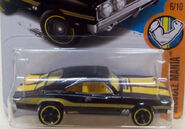 69 Dodge Charger 500 Black MoonEyes