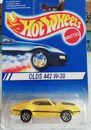 Hot Wheels 1995 Olds 442 carded