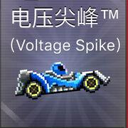 Voltage Spike pixelated