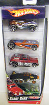 08 Scary Cars 5-Pack