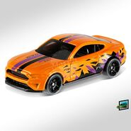 2019 Hot Wheels 2018 Ford Mustang GT