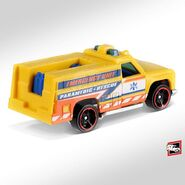 2019 Hot Wheels Rapid Responder Back