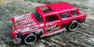 HW CHEVY NOMAD Road squad RED