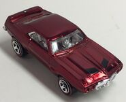 69 Firebird TA. Hot Wheels Classics. Spectraflame Red. Eaglevue