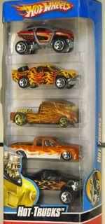 HW 5pack Hot Trucks