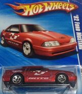 2010 HW Performance 07-10 '92 Ford Mustang 'Nitto' Red