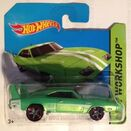 3 - '69 Dodge Charger Daytona 2014 - Green 2-2