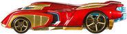 BDM74 Hot Wheels Marvel Character Cars - Iron Man Marvel Cars Iron Man XXX 5