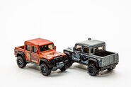 FYF52 and FYB98 15 Land Rover Defender Double Cab-1