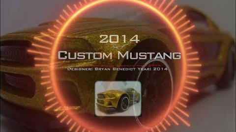 Hot Wheels - 2014 Custom Mustang - Yonk Collection Video Montage