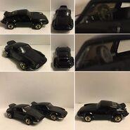 Porsche P-911 black (variation) open closed steering wheel